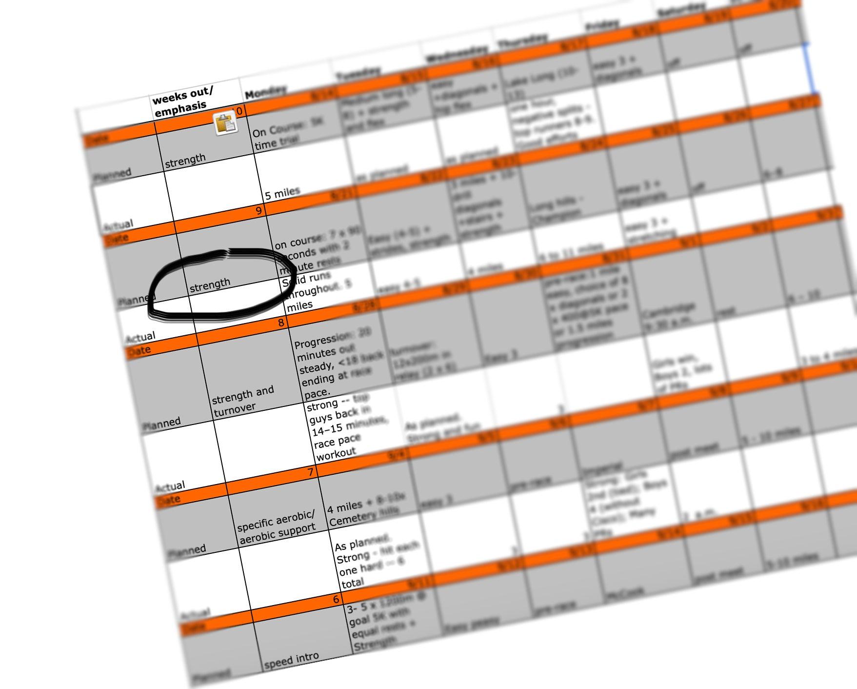 periodization spreadsheet