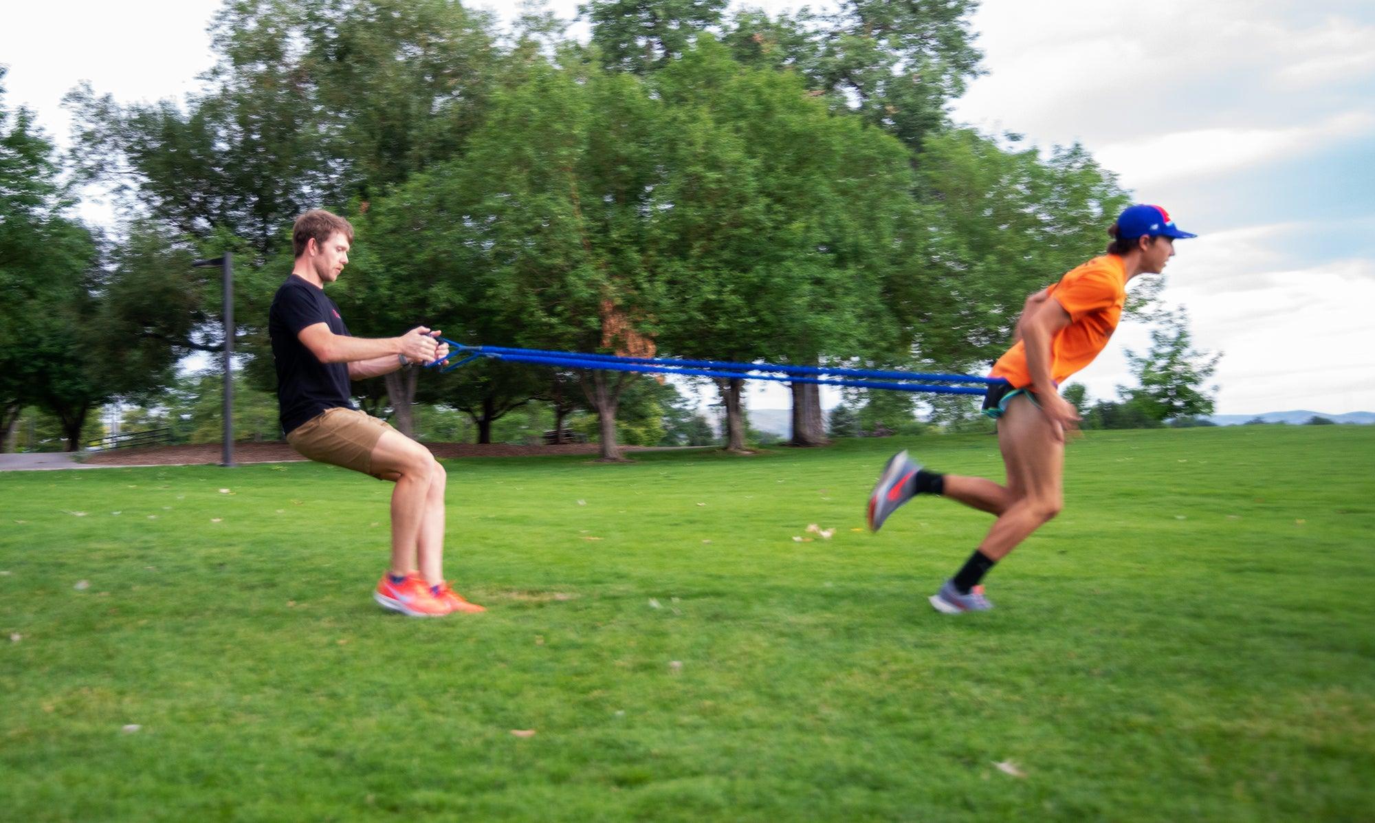 sprint drill off-season
