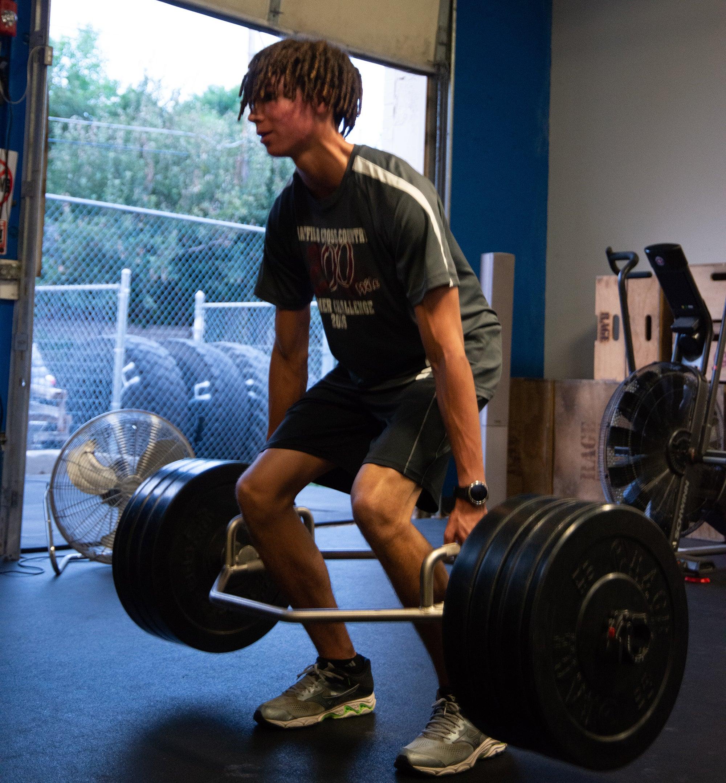 weight lifting off-season