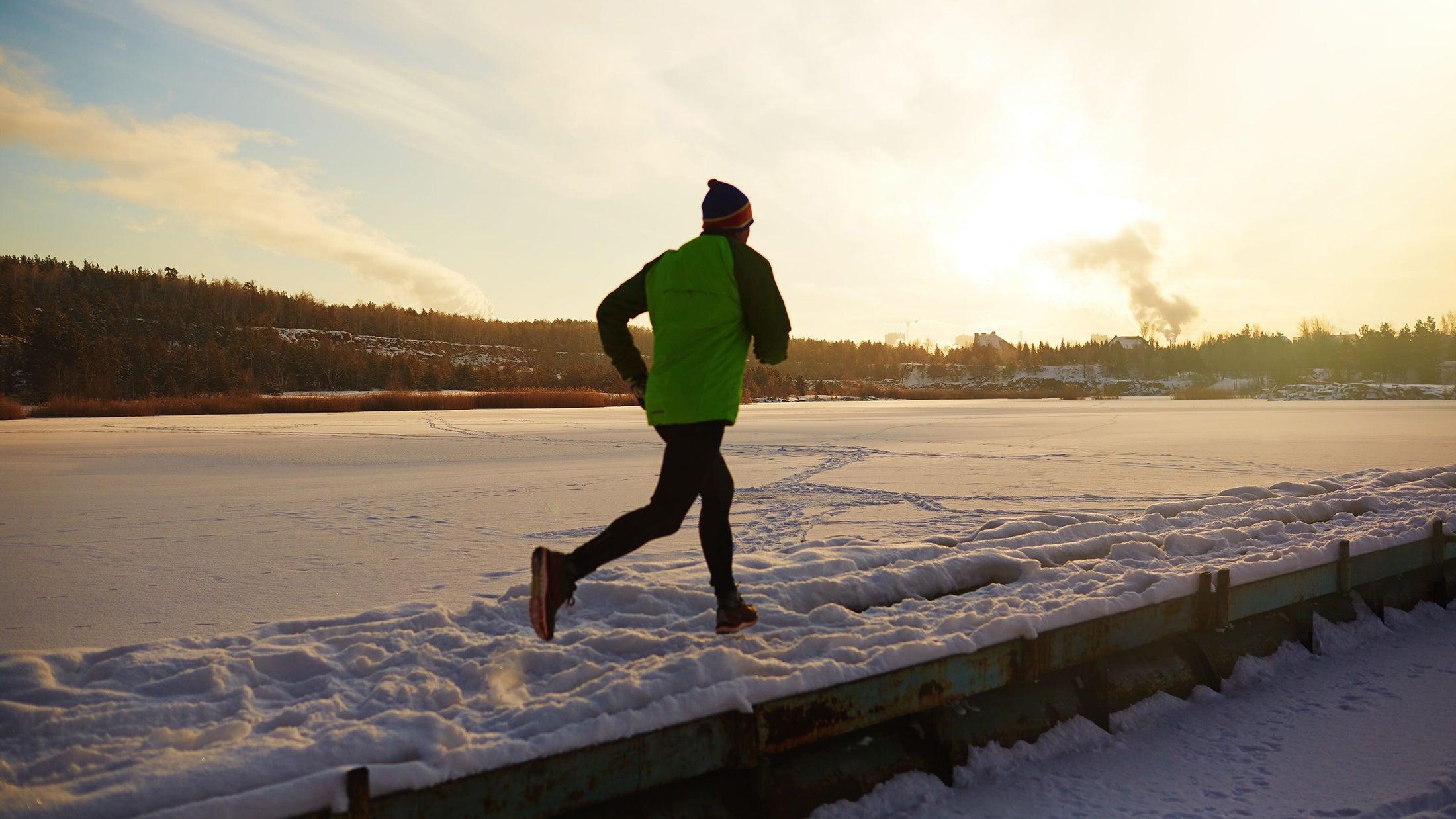 winter running as a training tool