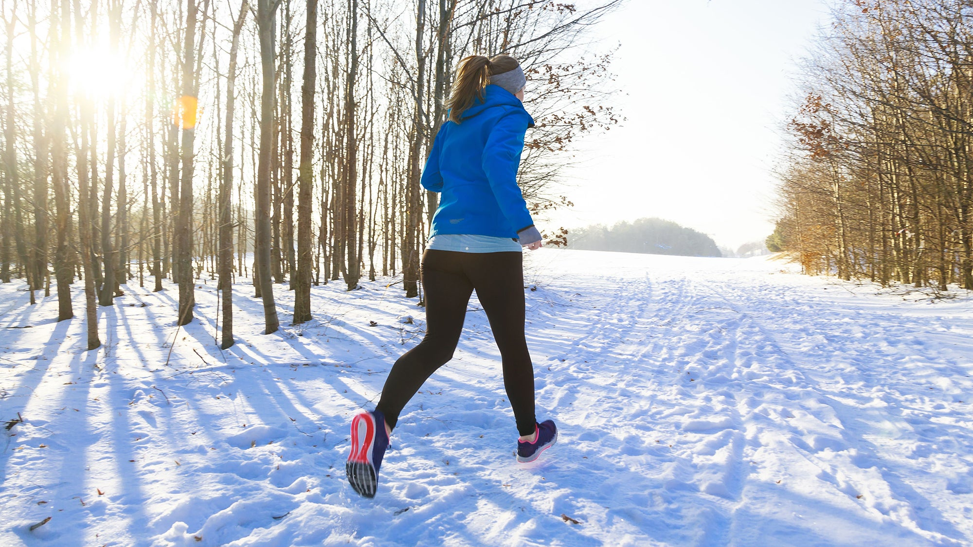 clear air of a winter run