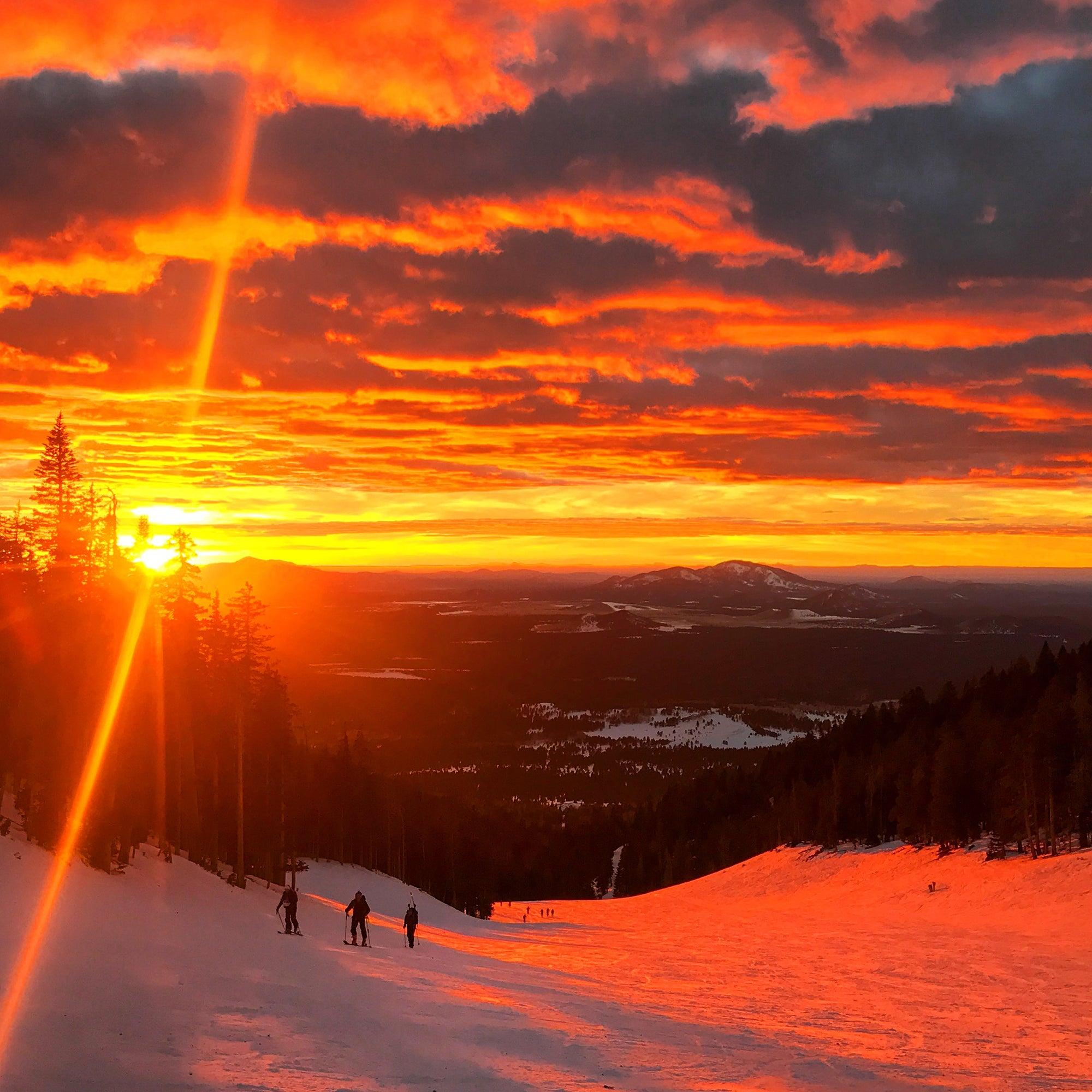 skimo sunrise