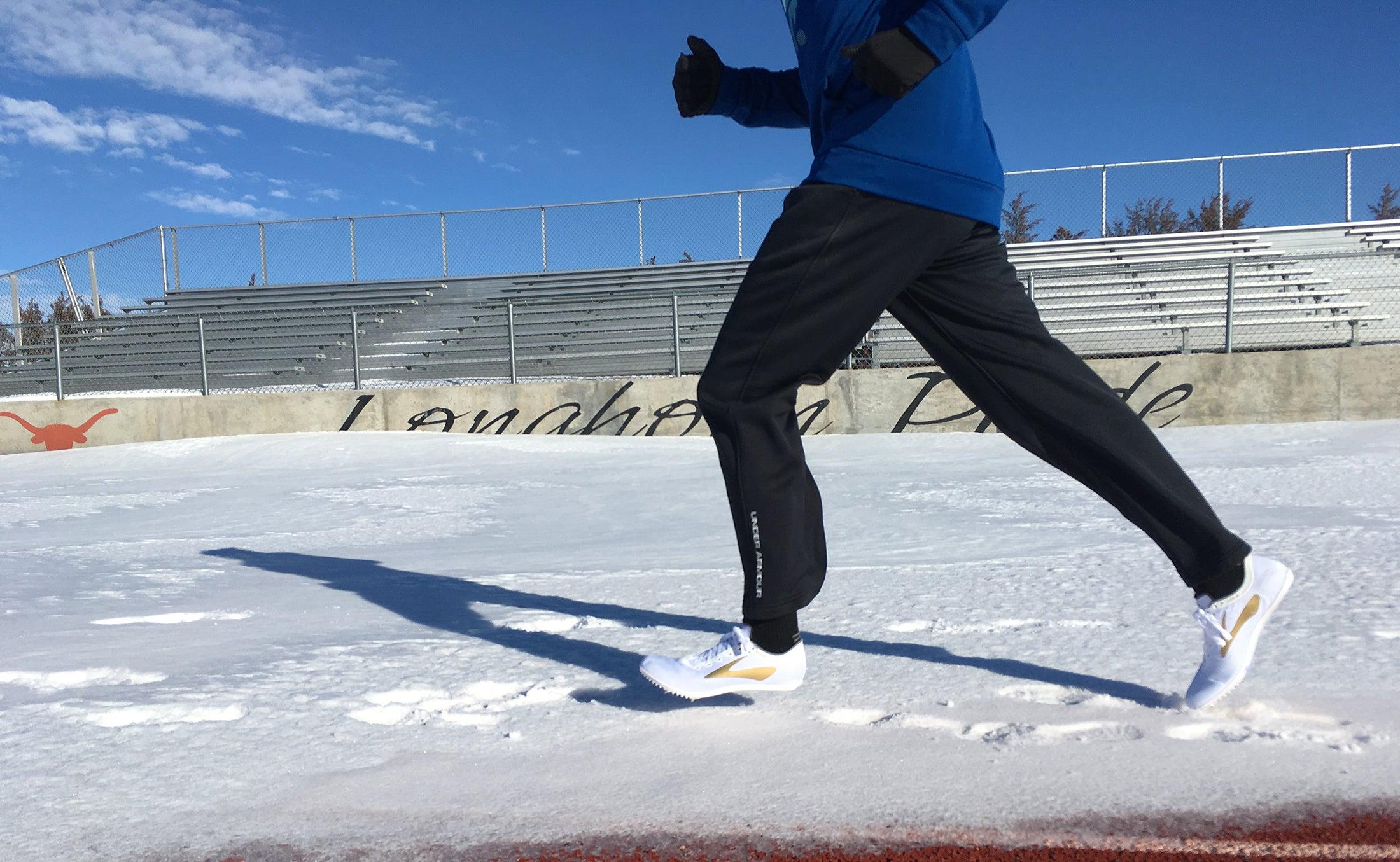 winter training on track