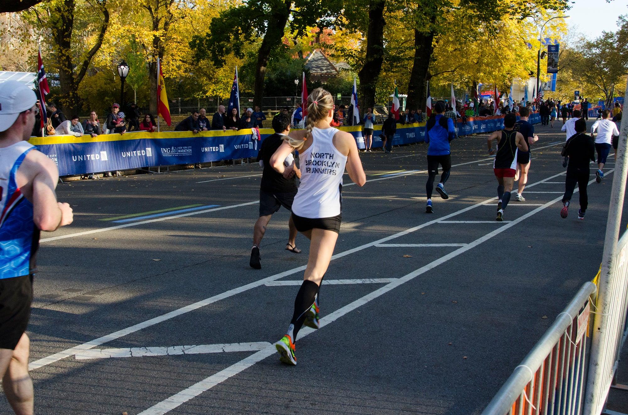 Finishing race strong