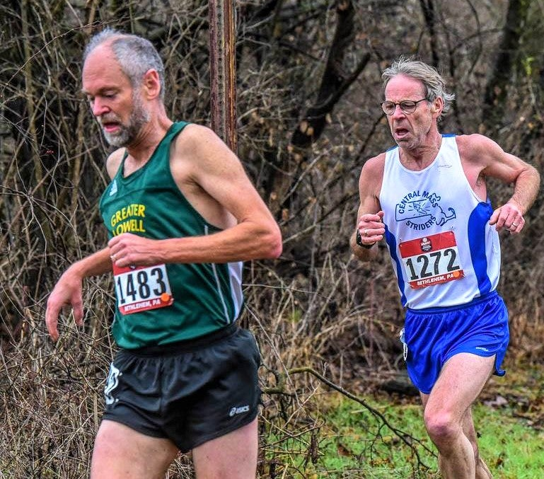 Peter Lagoy marathoner