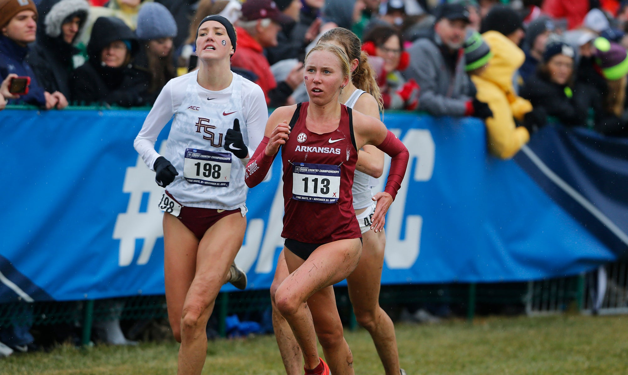 Arkansas women's team NCAA XC