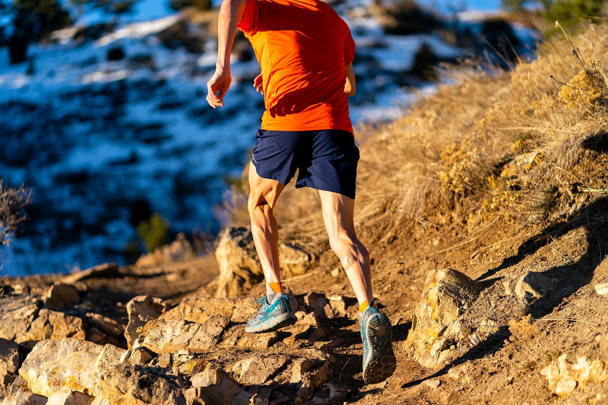 Adam Chase climbing trails
