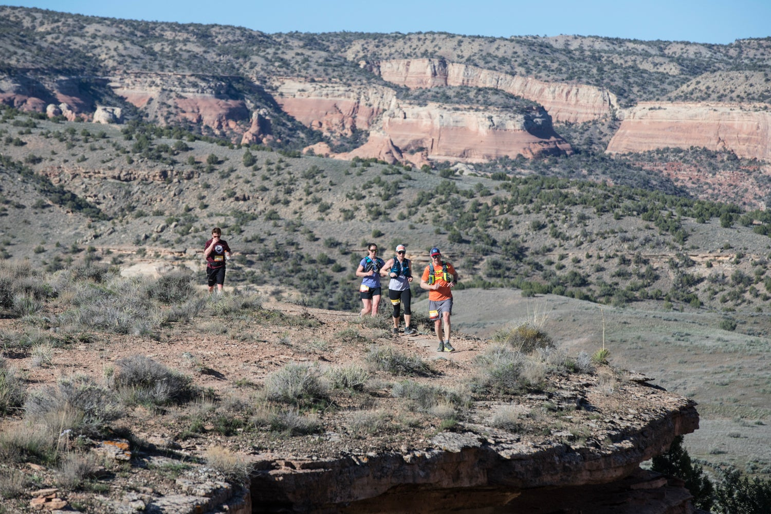 trail running for a period