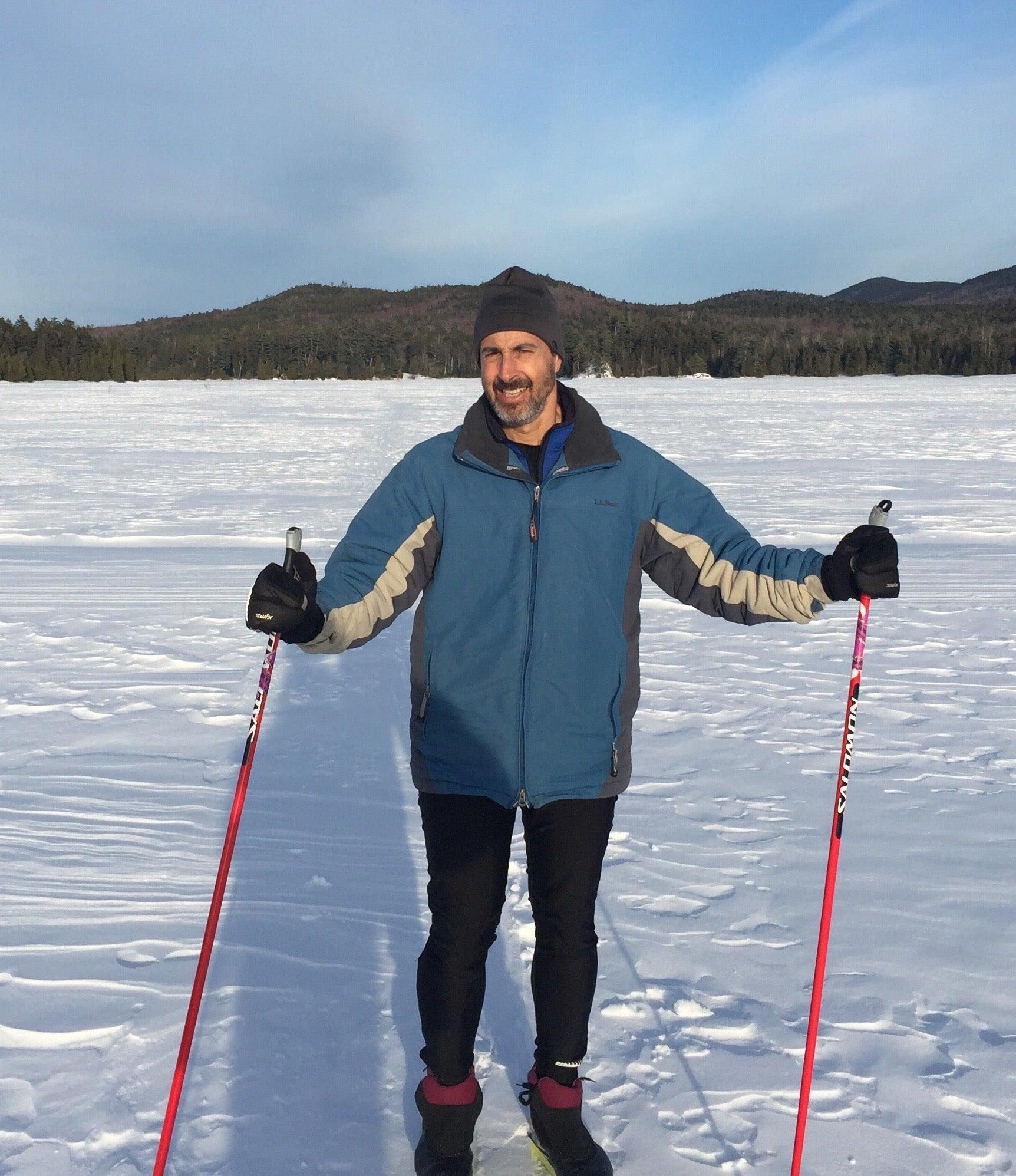 Skiing is one of Lowenstein's streak activities