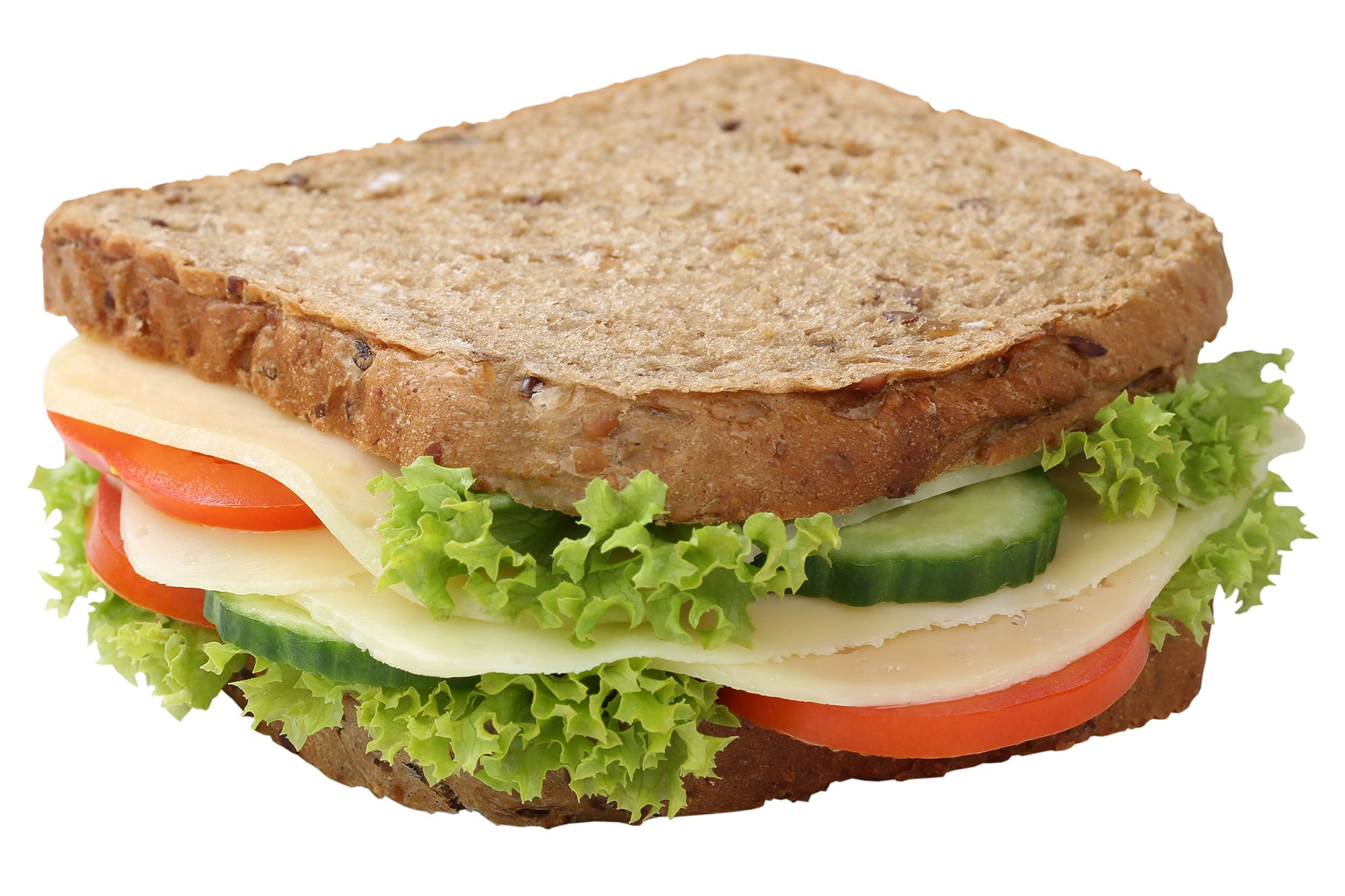 whole grain sandwich