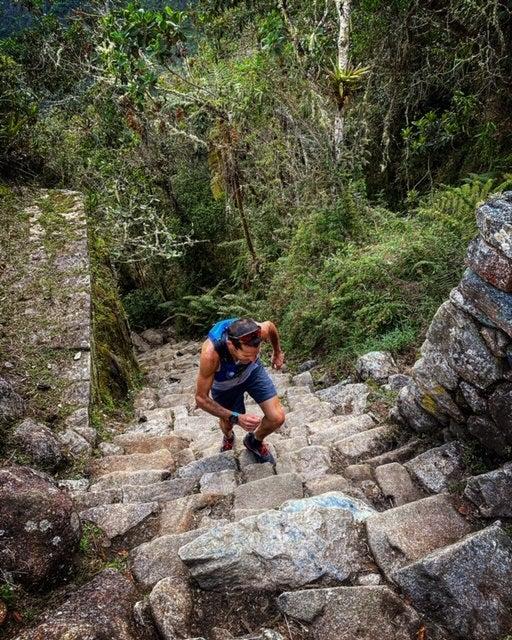 vertical running in Peru
