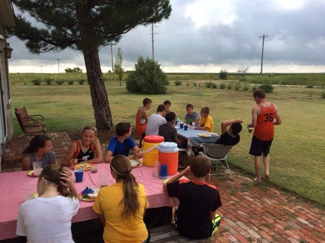 running group breakfast
