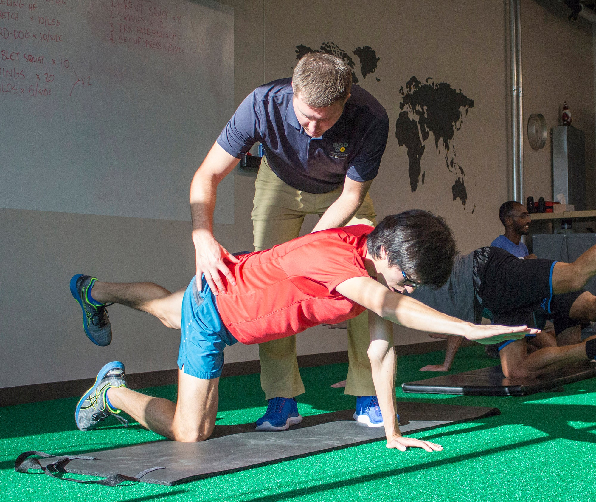 Getting assessed for corrective exercises at Hypo2Sport