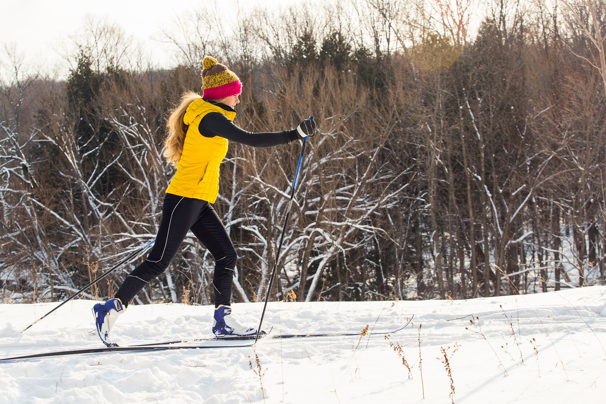 nordic skiing as a training period