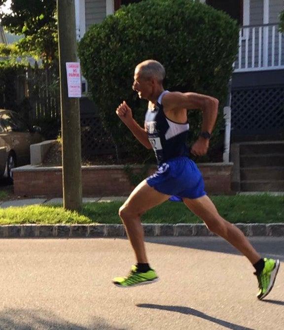 Reno Stirrat marathoner