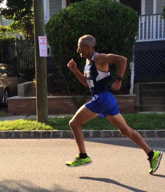 Reno Stirat marathoner