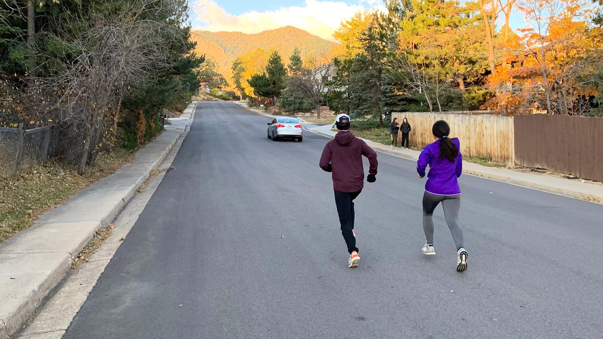 uphill sprints