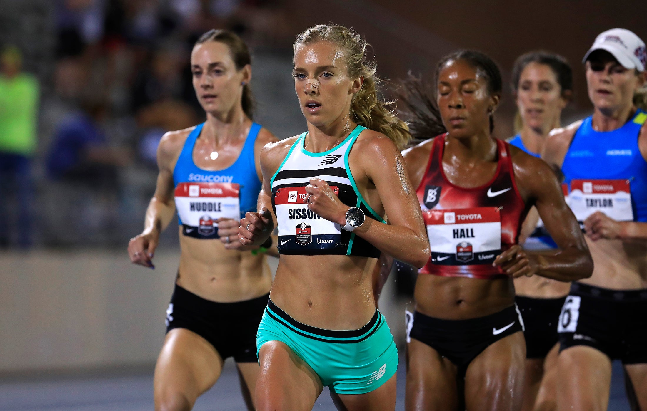 Sisson, Huddle and Taylor in Olympic Trials