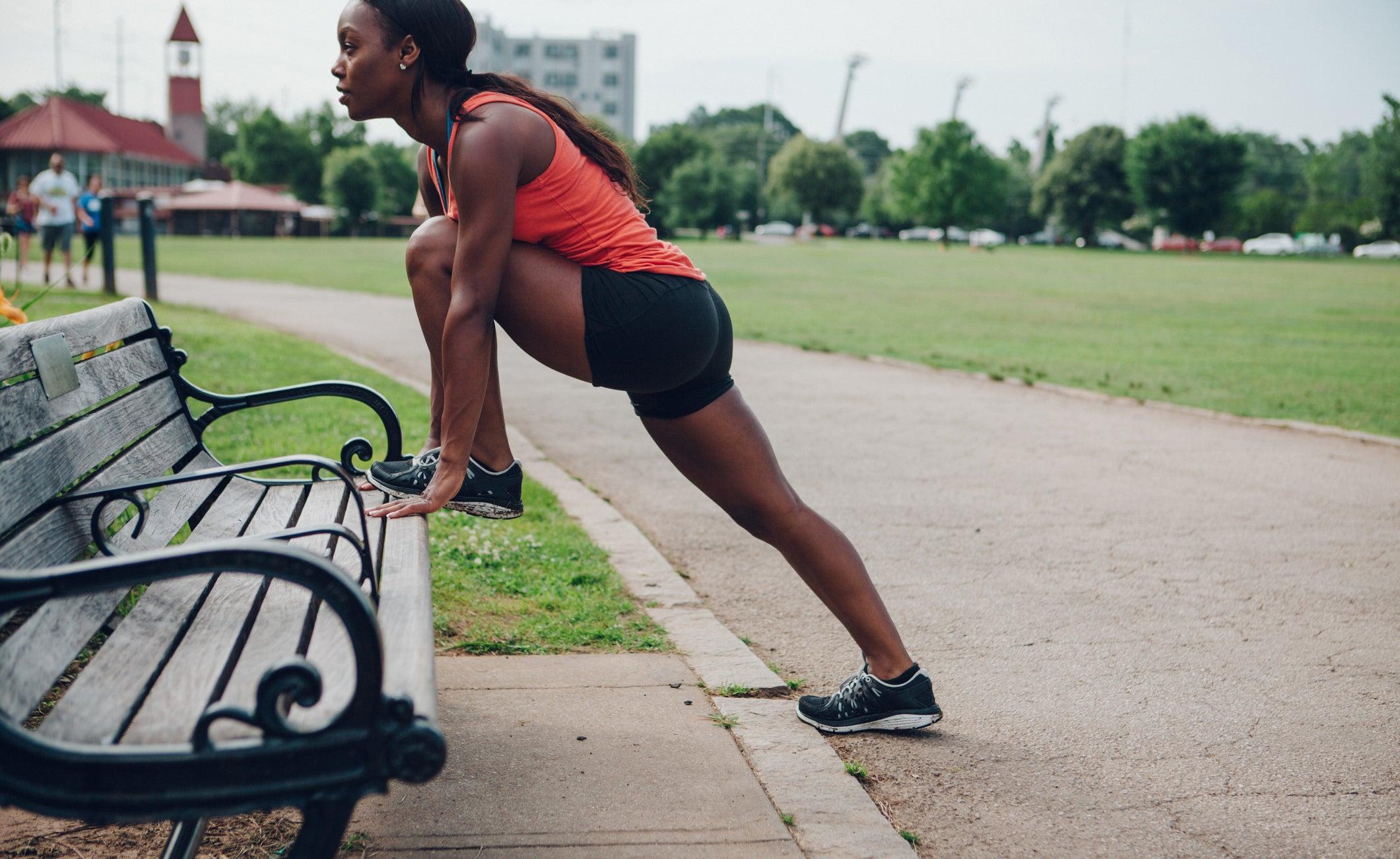 Piedmont Park run in Atlanta
