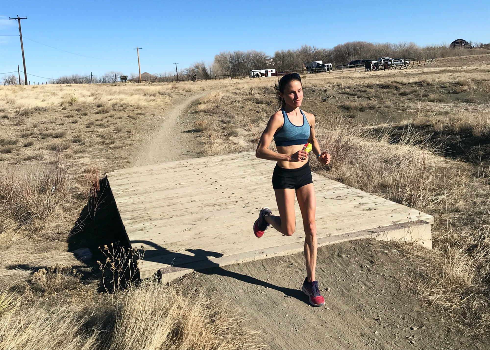 Becky Wade training rural Colorado