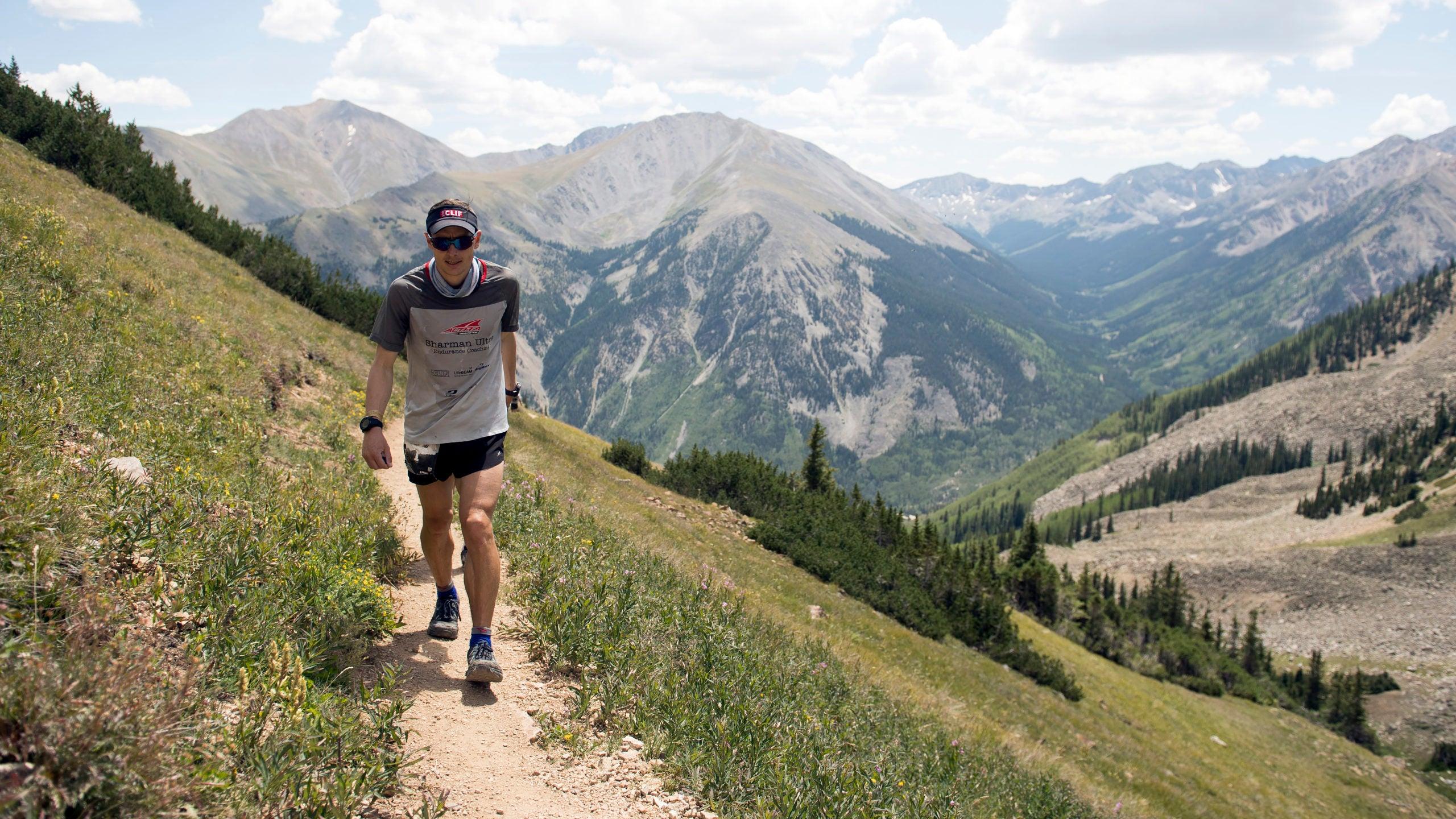Ian Sharman hiking