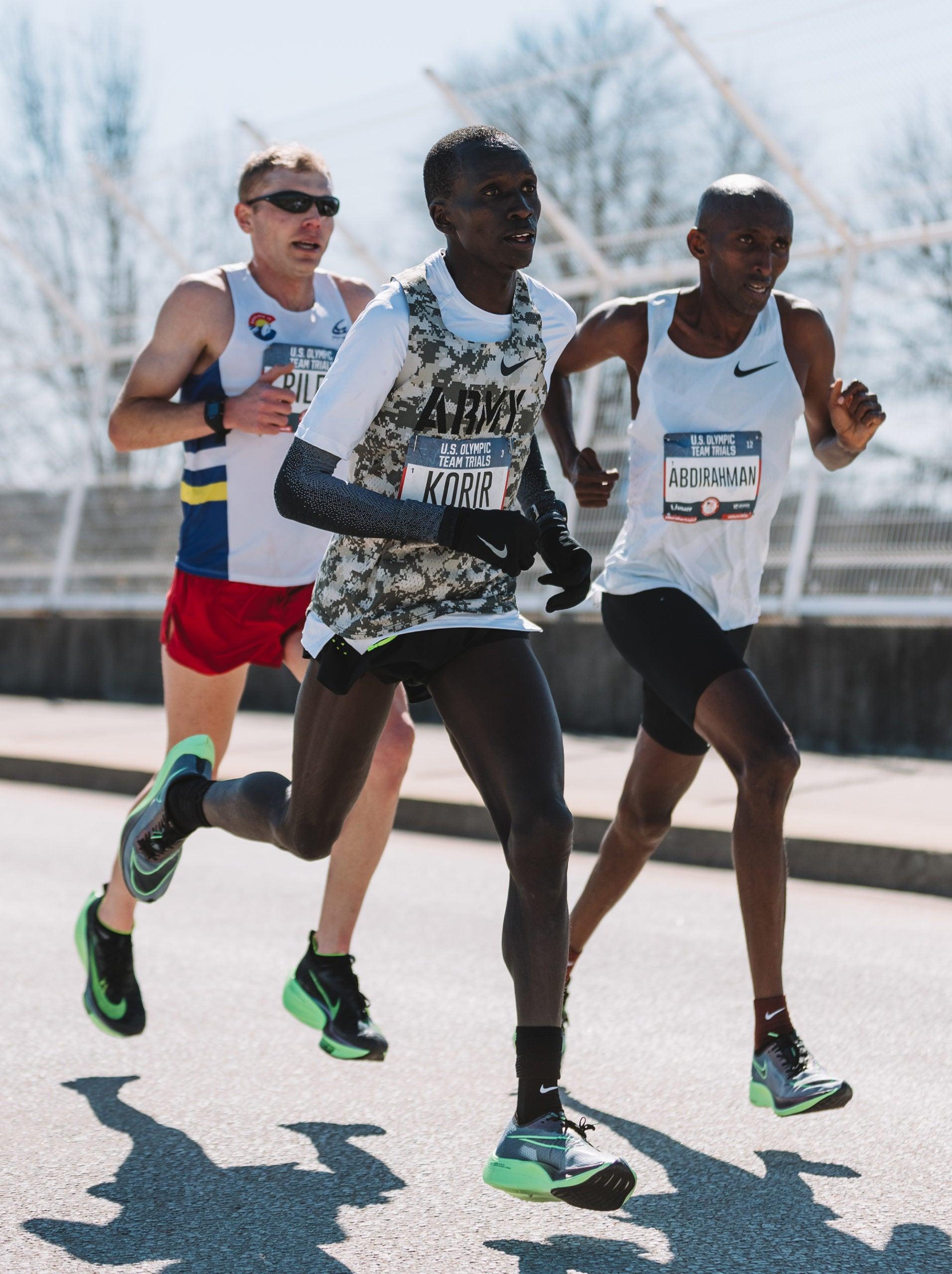 Riley, Korir, Abdirahman Olympic Trials