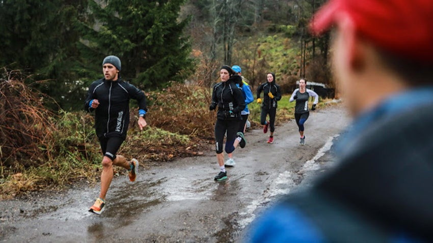 hill repeats coached by Dathan Ritzenhein