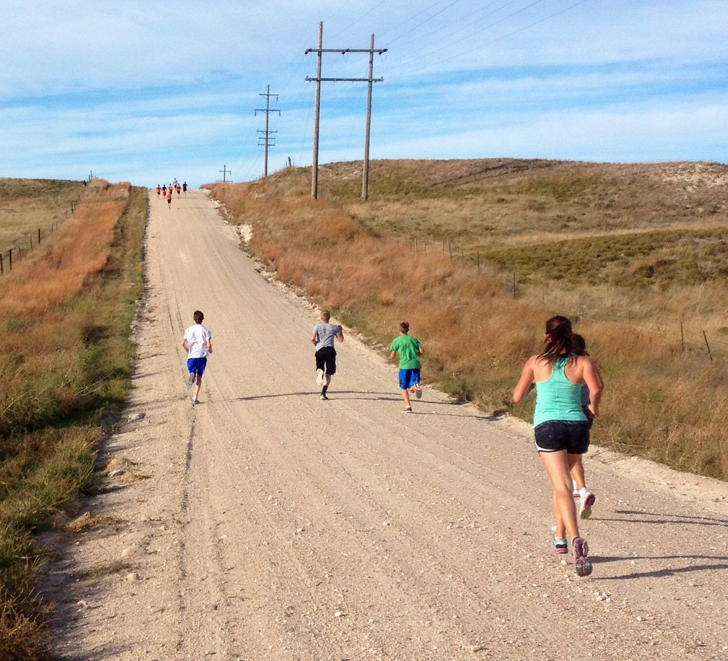 rolling hill workout