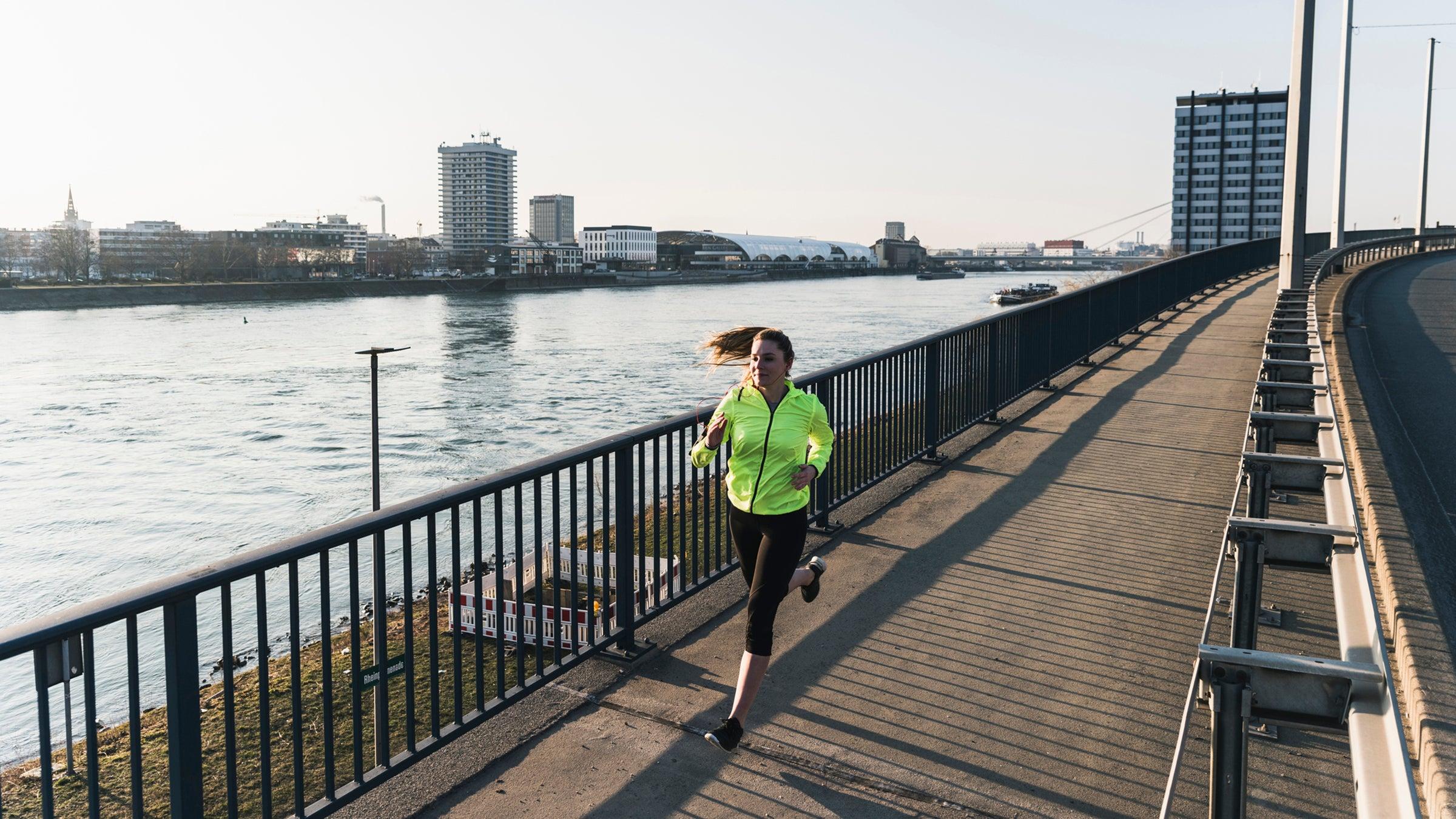 new runner on bridge