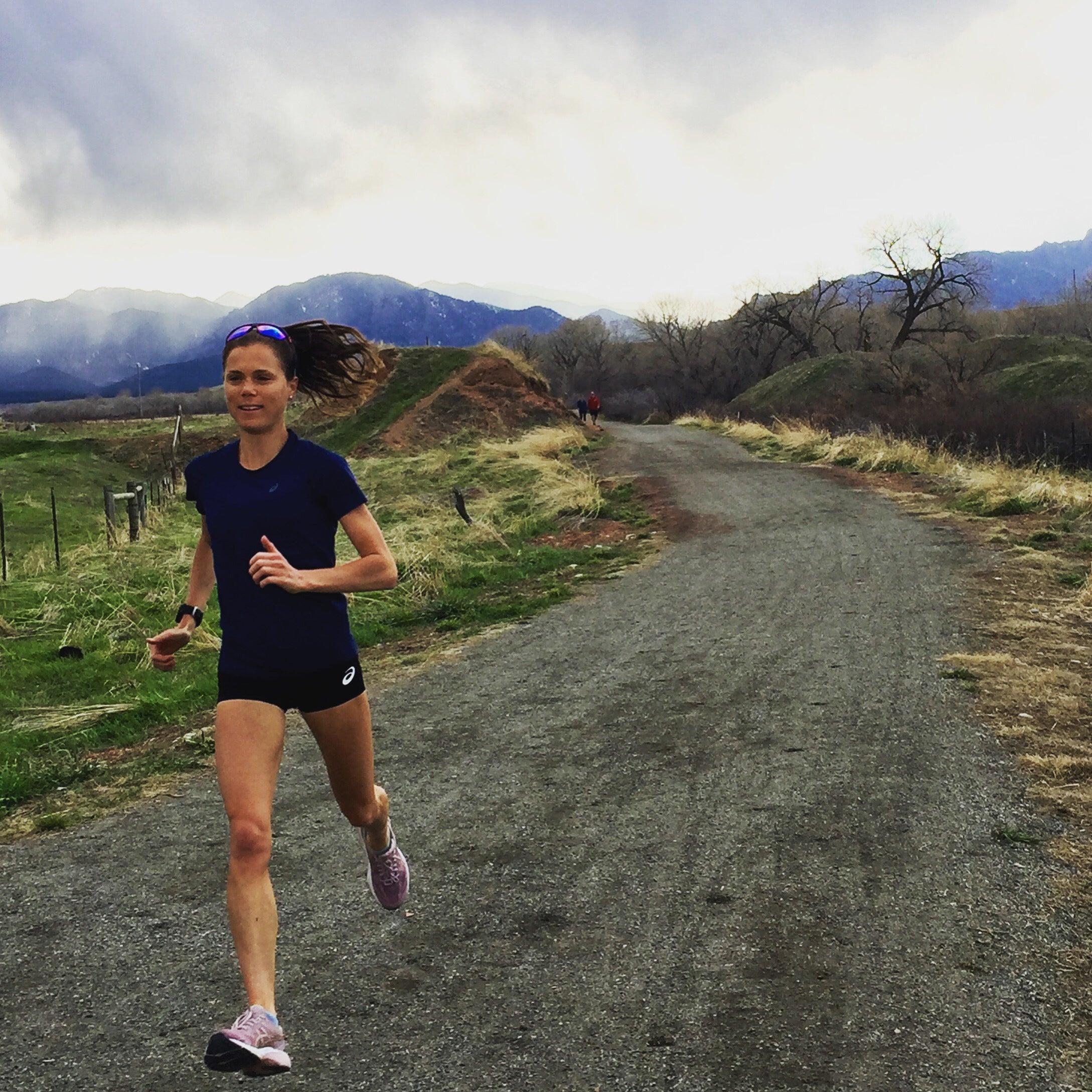 Lindsay Flanagan training