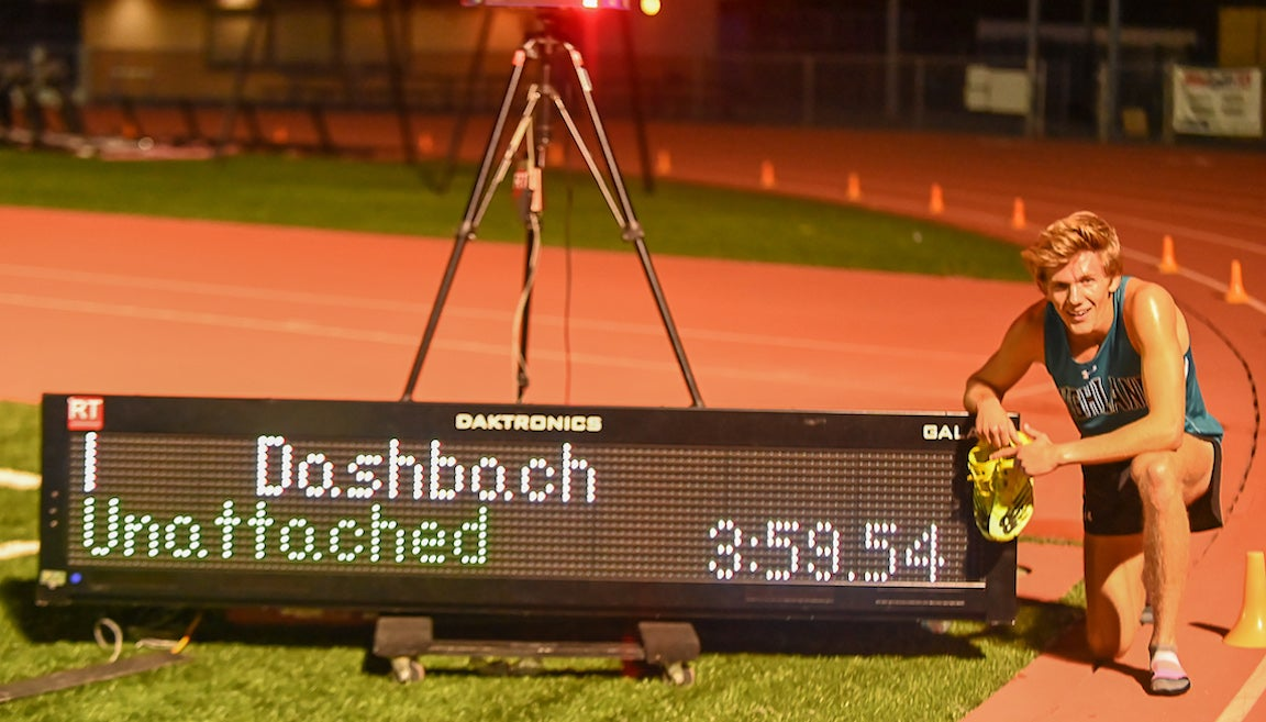 Inside Lane: How Leo Daschbach ran a sub-4 mile during the pandemic – PodiumRunner