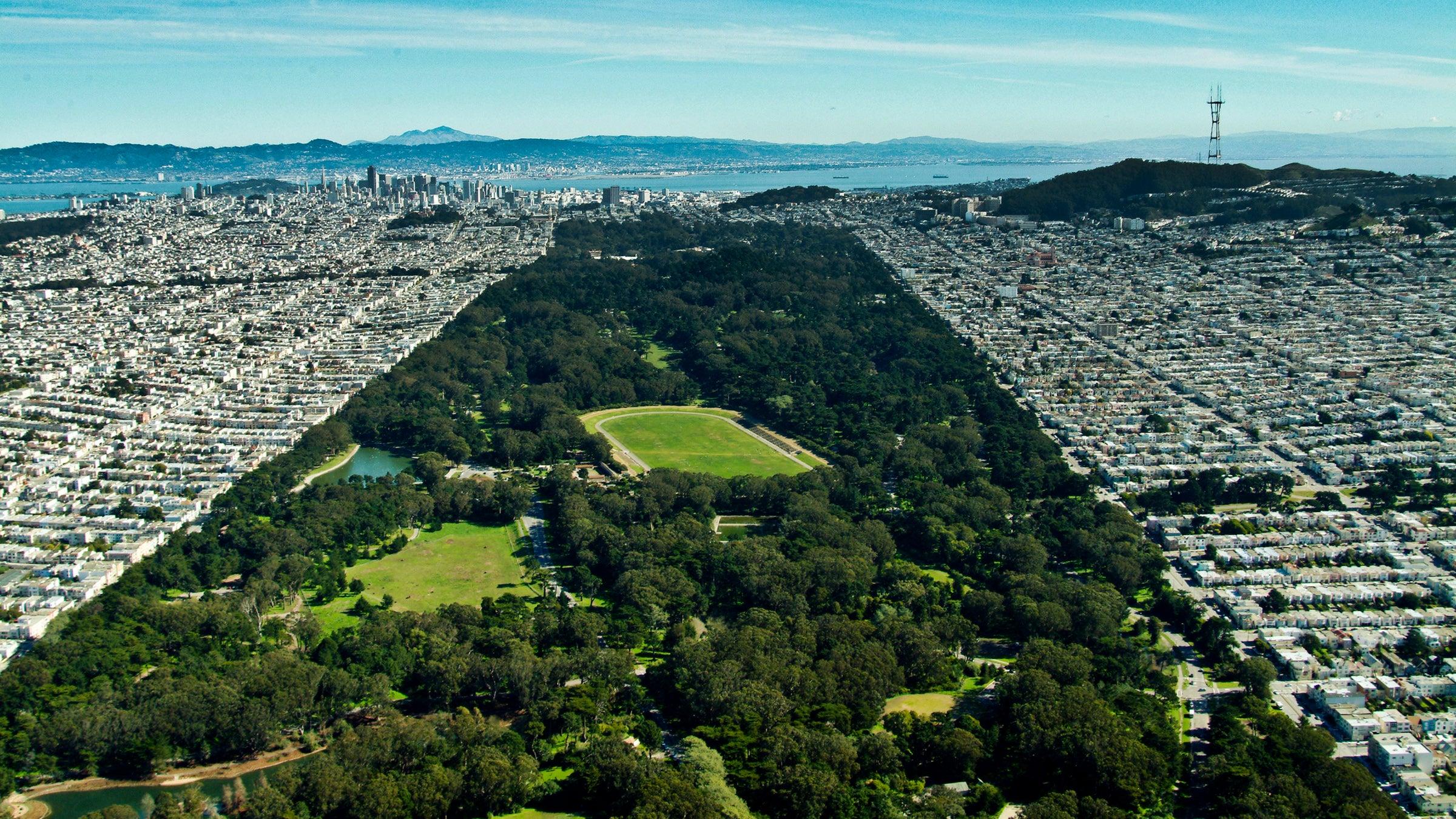 Olmsted's Golden Gate park in San Francisco