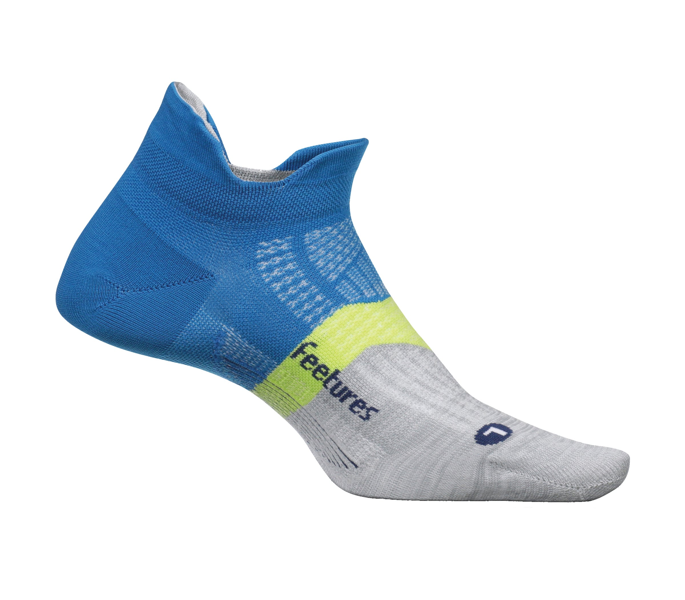 Features ultra-thin running socks