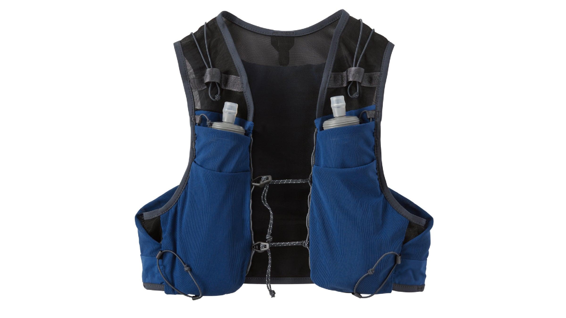 Blue Patagonia slope endurance vest