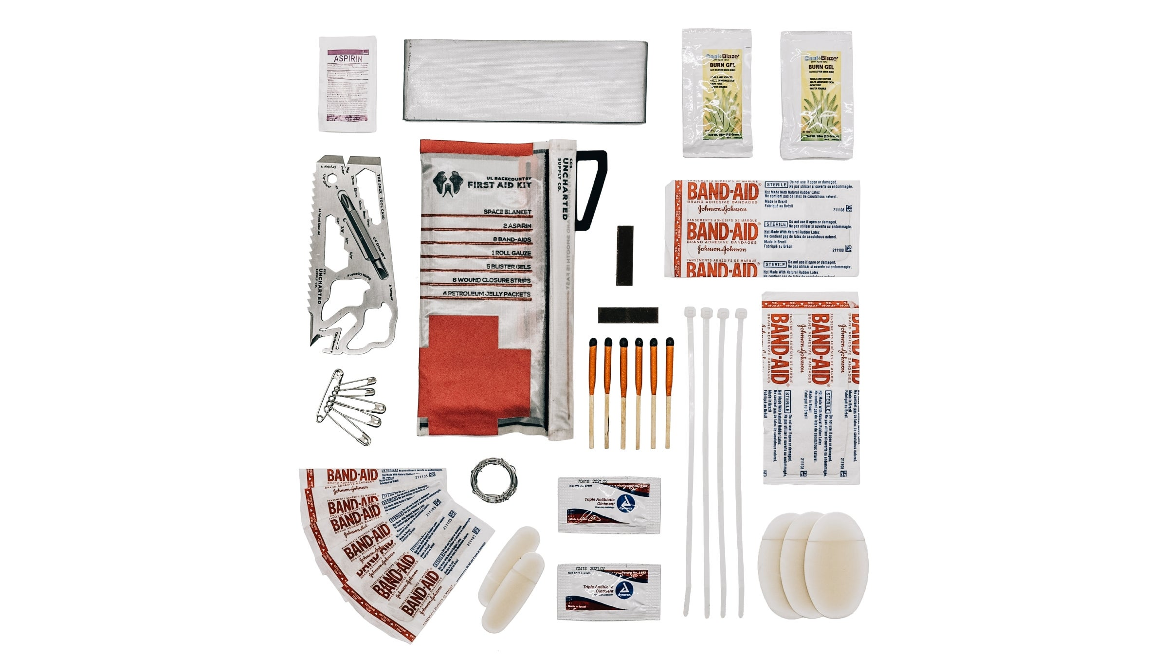 Unchartered Supply Co. triage kit
