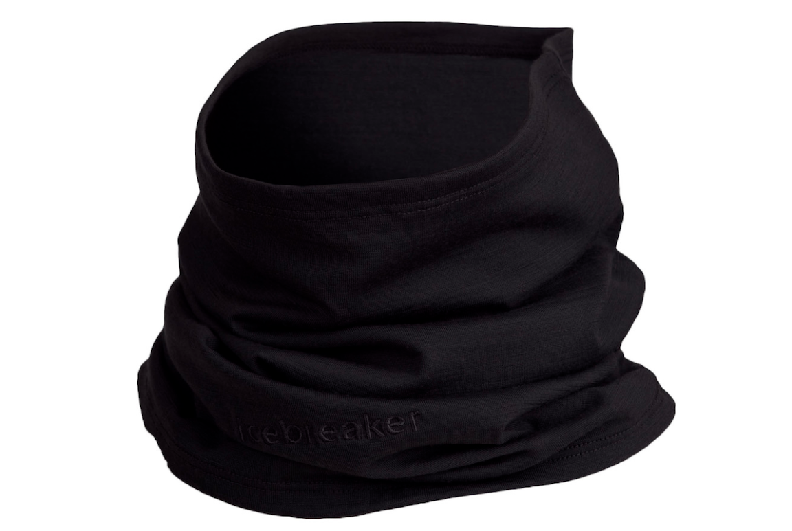 Black neck gaiter