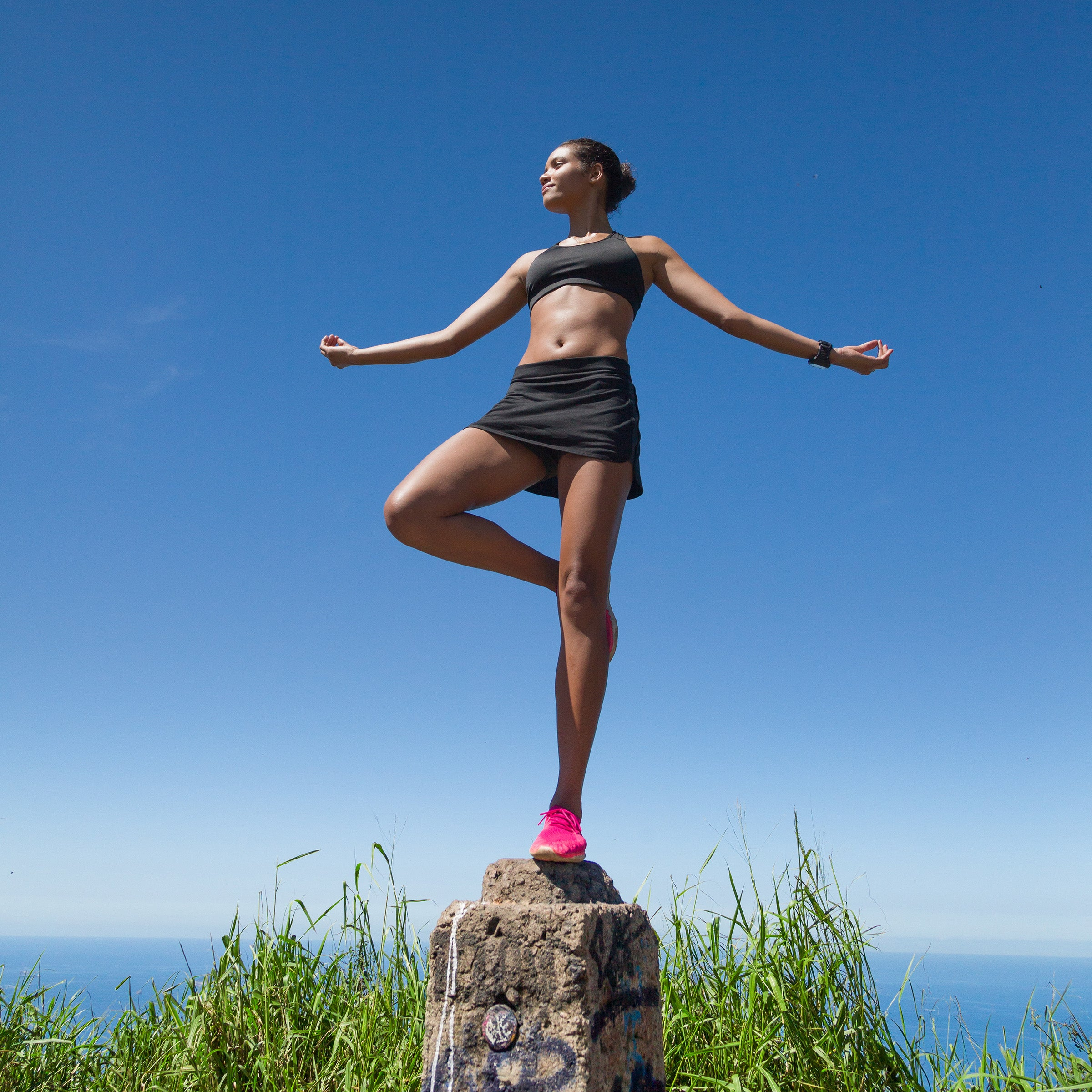 Single-leg balance assessment