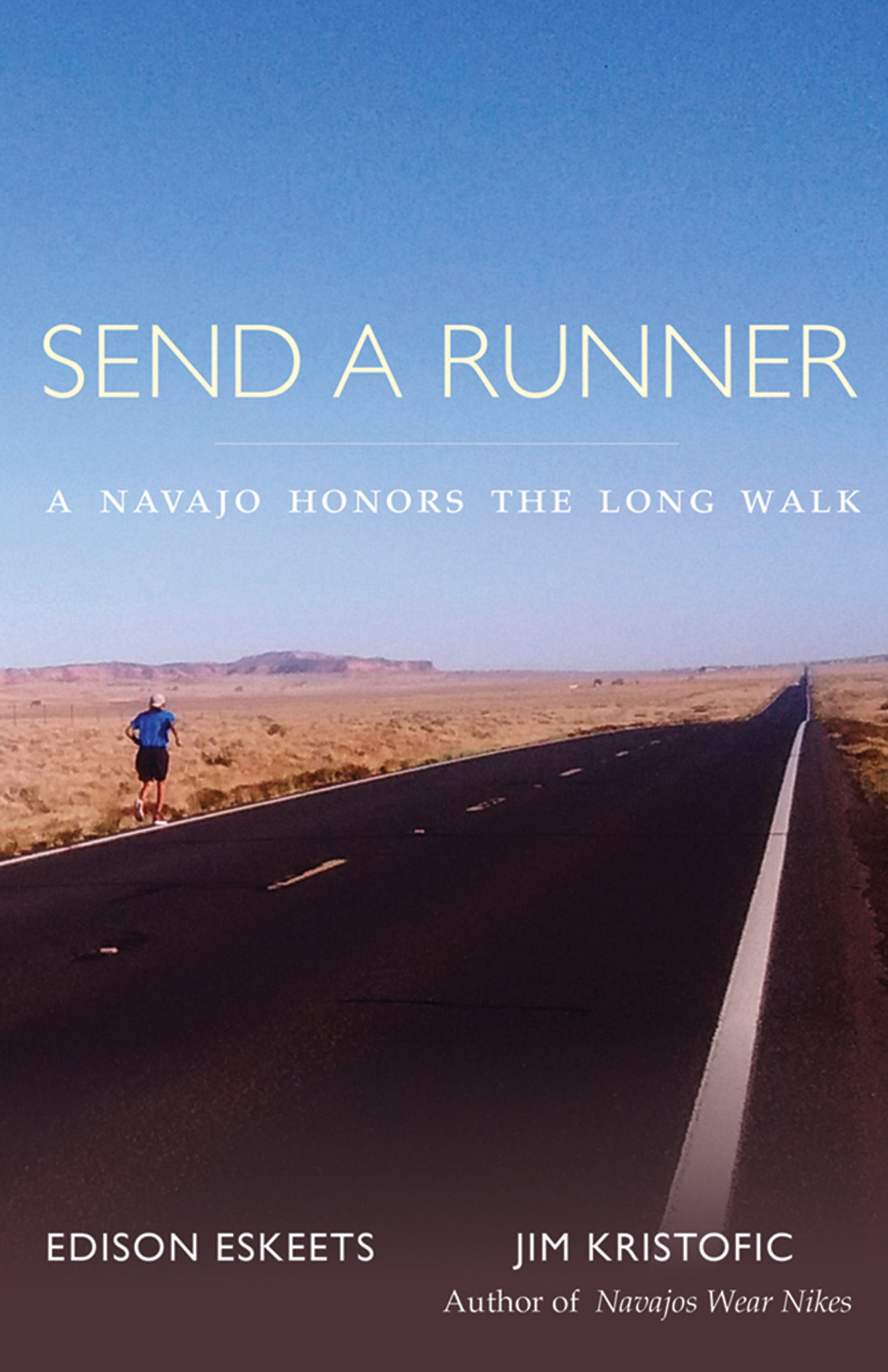 portada del libro de Send a Runner